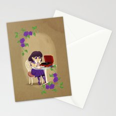 Retro Sailor Saturn Stationery Cards