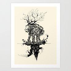 up&under Art Print