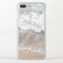 malibu lookdown Clear iPhone Case