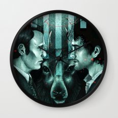 Hannibal This Is My Design Wall Clock
