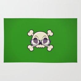 Nerd Skull Rug
