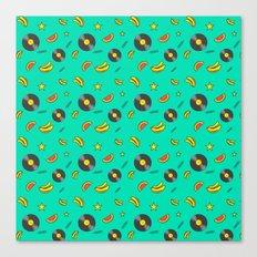 Disko Galerie funky pattern Canvas Print