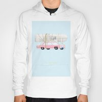 simpsons Hoodies featuring The Simpsons | Famous Cars by Fred Birchal