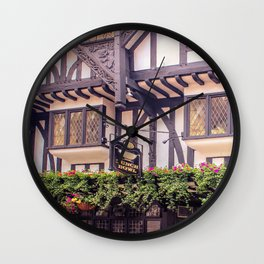 Punch Bowl, York City Wall Clock