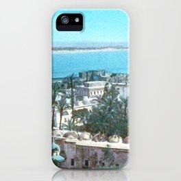 Akka. Carmel range across the bay iPhone Case