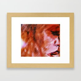 Noise (abstract art) Framed Art Print