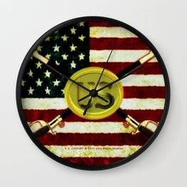 US CAVALREY - 020 Wall Clock