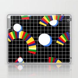 Memphis Grid & Rainbows Laptop & iPad Skin