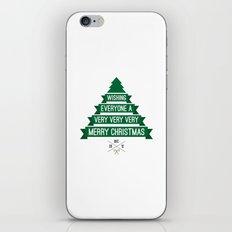 Merry Wishes iPhone & iPod Skin