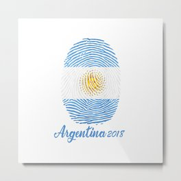FIFA WORLD CUP 2018 - ARGENTINA Metal Print