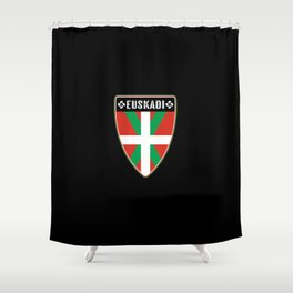 Euskadi Basque Country Shower Curtain