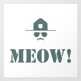 original meow! Art Print