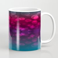 splash Mugs featuring Splash by Aloke Design