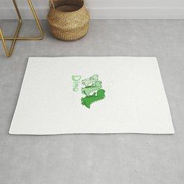 Team Dinosaur (Greens) Rug
