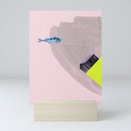 waiting for salvation Mini Art Print