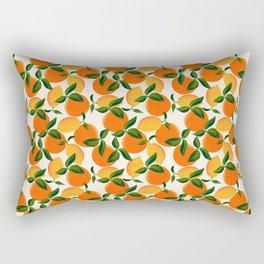 Oranges and Lemons Rectangular Pillow
