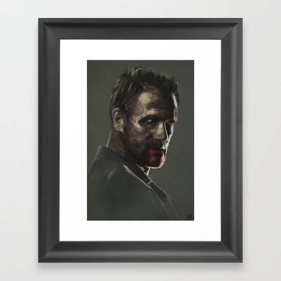 THIS SORROWFUL LIFE Framed Art Print