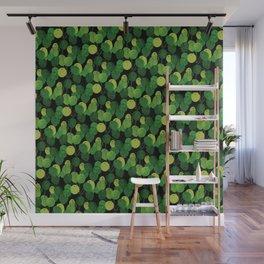 Black Pliea Peperonioides interior plant Wall Mural