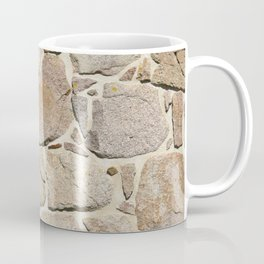 old quarry stone wall Coffee Mug