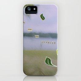 Rushing iPhone Case