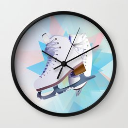 Skating Star Wall Clock