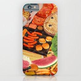 Summer BBQ iPhone Case