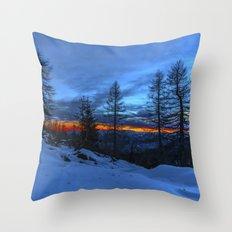 Warm Streak 1 Throw Pillow