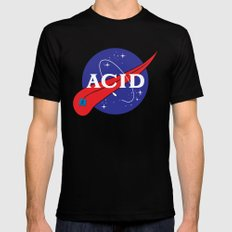 ACID (FOR A FRAN) SMALL Black Mens Fitted Tee
