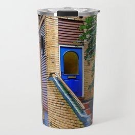 Stairs to Nowhere  -  Greenwich London Travel Mug