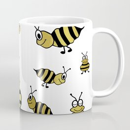 Golden Bees Coffee Mug