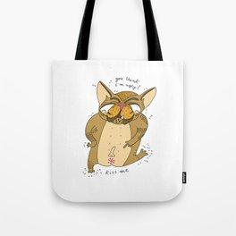 ugly bulldog KMA Tote Bag
