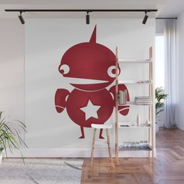 minima - slowbot 002 Wall Mural