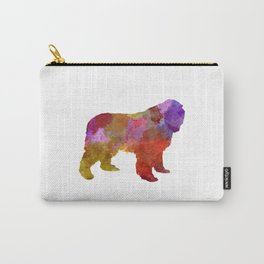Newfoundland in watercolor Carry-All Pouch
