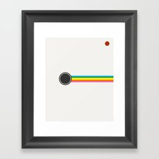 Retro Polaroid Framed Art Print