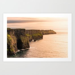 Cliffs Of Moher Art Print