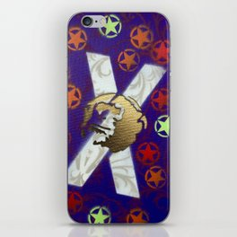 Monky Cross Bones iPhone Skin