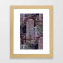 office Dayze Framed Art Print
