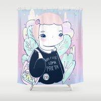 daria Shower Curtains featuring LOMA by marmushka