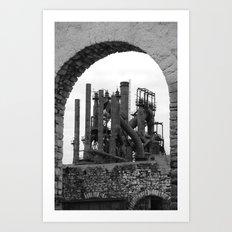 Bethlehem Steel Blast Furnace 7 Art Print