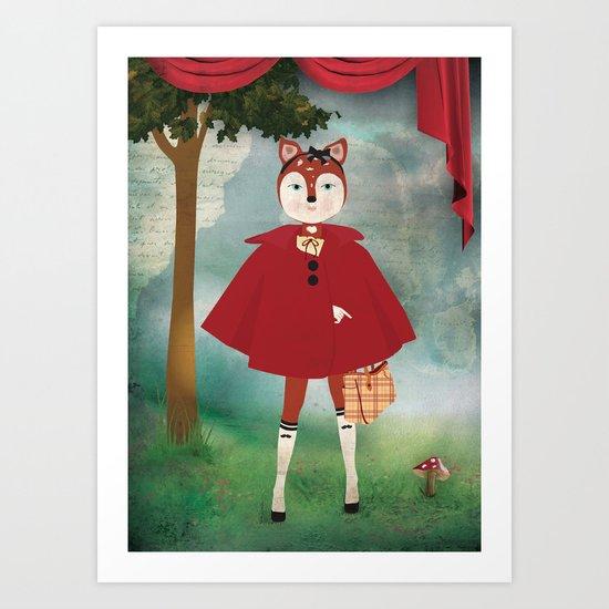Bichette Art Print