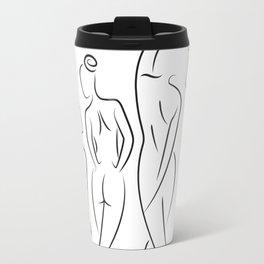 Ladies in Lines Travel Mug