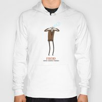 freud Hoodies featuring Freud - Super Science Friends by Super Science Friends