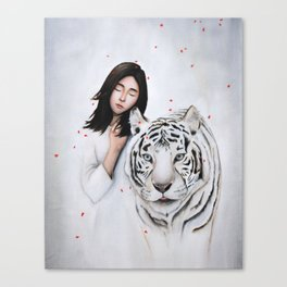 White Dream Canvas Print