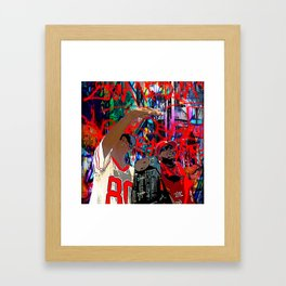 B-Boys Framed Art Print