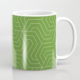 Maximum green - green - Modern Vector Seamless Pattern Coffee Mug