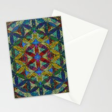 The Flower of Life (Sacred Geometry) Stationery Cards