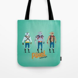 Biker Mice from Mars - Pixel Nostalgia Tote Bag