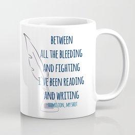 READING AND WRITING | HAMILTON Coffee Mug
