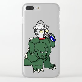 It's Ultra Tough Man Clear iPhone Case