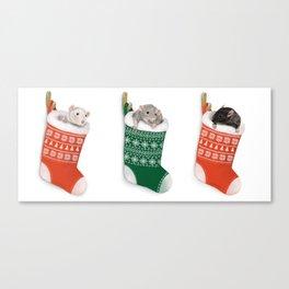 Ratty Christmas Canvas Print